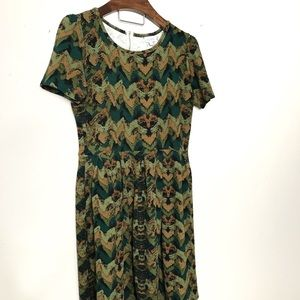 Lularoe Amelia Camo dress